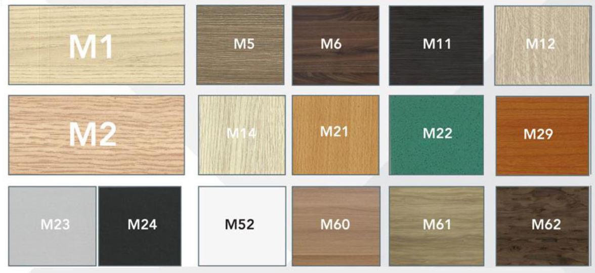 Mã màu gỗ