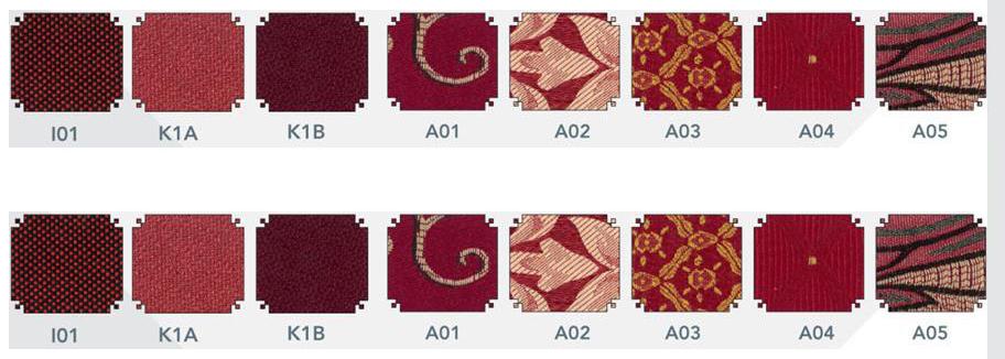 Mẫu vải dùng cho ghế hội trường